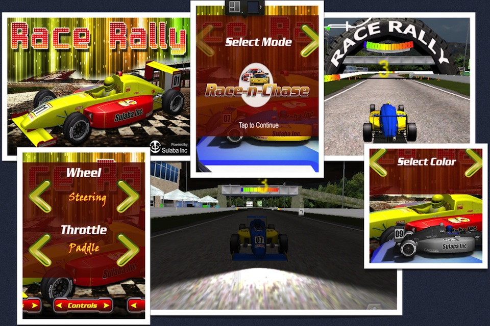 Screenshot Race Rally 3D – Top Racing Car Action Arcade Fun !